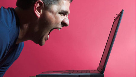 #@*!!! Anonymous anger rampant on Internet